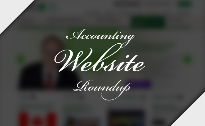 ACCOUNTING WEBSITE ROUNDUP